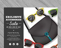Realistic Summer Sale Flyer I | Designed for Freepik