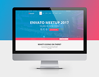 uEvent - One-page Event Management PSD Template