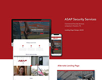 ASAP Security Services - Web Design