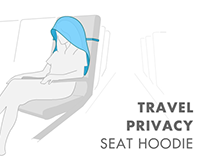 Travel Privacy Seat Hoodie