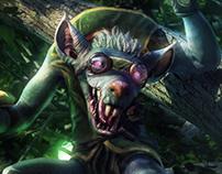 Twitch, the plague rat