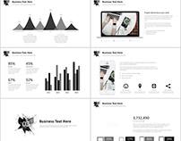 Best gray Creative business PowerPoint template