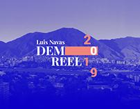 Luis Navas - Demo reel 2019