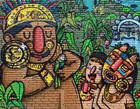 """""""El Dorado"""" Bogotá Ciudad Mural 2016"""