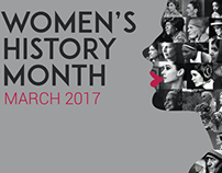 Poster Posse's Tribute To Women's History Month