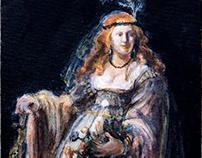 "Master's Copy of Rembrandt's ""Saskia van Uylenburgh"""