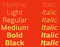 Cresta Typeface Family