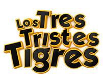"""""""Los Tres Tristes Tigres"""" 3D Logo"""