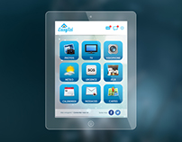EasyVizi Mobile & Tablet App Design