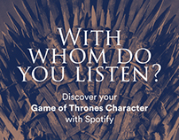Spotify x Game of Thrones