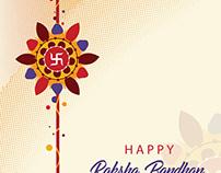 Happy Raksha Bandhan template