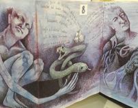 libro de artista itzeel reyes