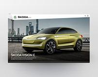 Skoda Blog Design