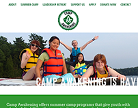 Camp Awakening Website