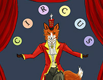 Welcome To The Circus! Book Illustrations