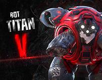 Robot Titan V Oscar Creativo
