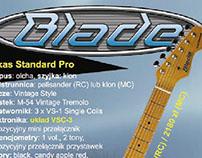 Gary Levinson's Blade Guitars
