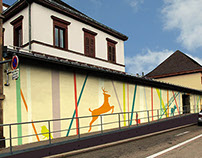 façade d'une école