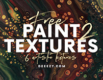 Free Artistic Paint Textures 2