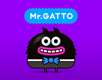 mr.GATTO - iMessage Stickers
