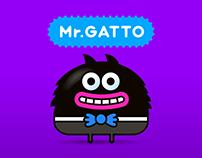 mr.GATTO - iMessage Stickers