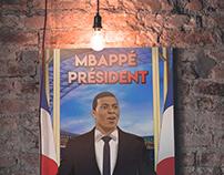 Mbappé Président - Football T-shirt
