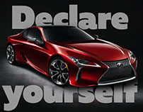 Declare Yourself With Lexus LC | Promo Cover-generator
