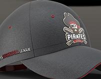 Pirates Baseball - Mascot Logo