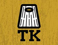 TK Cornhole Board Branding Project