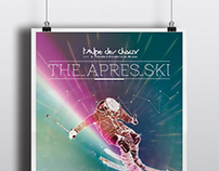 The après ski | Poster design