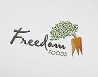 Freedom Foods Logo Development