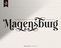 FREE | Magensburg Display Font