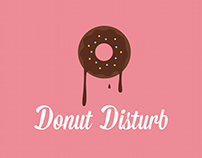 Restaurant Identity: Donut Disturb