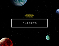 Star Wars // Planets