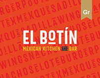 El Botín Mexican Restaurant - Branding & Website