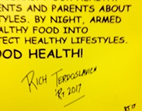 Autograph For Healthy Harlem Poster