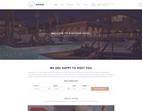 Riverside Resort WordPress Hotels Reservation Theme
