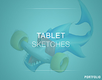 Tablet skecthes