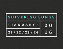 Shivering Songs Music Festival Identity & Promo
