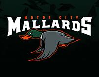 Motor City Mallards - Branding