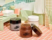 엄마의목욕탕레시피_Paperart set design