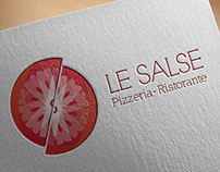 Le Salse Pizzeria & Ristorante: Branding