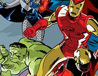 Marvel 1968 illustration