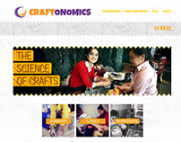 Craftonomics - Branding & Website