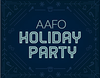 AAF Holiday Party Invite