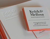 Keith & Melissa: Photographers