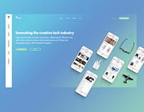 Tech.io web UI #1