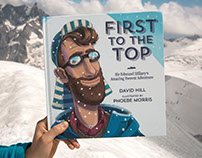 First to the Top - A picture book about Edmund Hillary