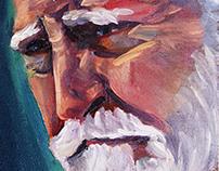 Portrait of Scott Wilson as 'Hershel Greene'