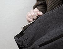 RAUKSLIUS / WRINCLER - computer bag